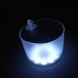 Canada Lampe Solaire Gonflable 10 LED Alimenté Solaire Pliable Lampe Protable Gonflable Pour Jardin Cour Led Lumière Solaire Extérieure Offre