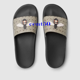 Wholesale Print Pu Leather Design - 2017 Fashion Designed Brand Outdoor Slippers New Luxury Tiger Printed Men Slide Sandals Comfortable Beach Shoes Euro 38-45