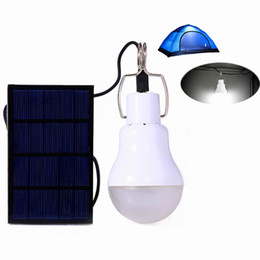 Wholesale Quality Light Bulbs - New Arrival S-1200 15W 130LM Portable Led Bulb Garden Solar Powered Light Charged Solar Energy Lamp High Quality Free Shipping