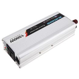 Wechselrichter ladegeräte für autos online-1500 Watt DC 12 V 24 V zu AC 220 V 110 V USB Tragbare Ladegerät Konverter Auto Inverter für Elektronische Produkte Sugar Power 3000 Watt CEC_62M