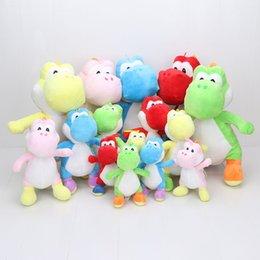 Wholesale Super Mario Bros Soft - 18-40cm Super Mario Bros Yoshi Stuffed Plush Toys 40cm Soft Stuffed Toys Doll For Children Retail