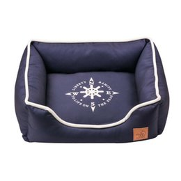Wholesale Blue Kennel - Luxury Kennel House Warm Fleece Big Size Dog Bed Mat Sofa Pet Cat Bed for Large Dogs Small Teddy S Free Shipping