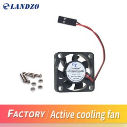 Wholesale Active Dual - Best quality Raspberry Pi 3, Active Cooling Fan for Acrylic Case   5V plug-in and play   Support raspberry pi model B Plus B+  3d printer