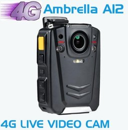 Wholesale Vision Chips - BC001 HD 1080P Multi-functional Body Worn IR Night Vision Camera Support 4G WIFI GPS with Ambarella A12 chip AT