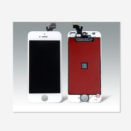 Wholesale Iphone 5g Screen Digitizer - Tianma LCD A Quality For iphone 5 5G 5C 5S LCD Display With Touch Screen Digitizer For iPhone 5 5c 5S Assembly Replacement Free Shipping