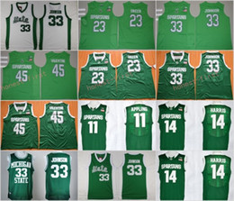 Wholesale Michigan State Spartans College Basketball Jersey Earvin Johnson Denzel Valentine Draymond Green Keith Appling Harris