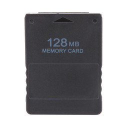 Wholesale 32 Memory Stick - PS2 Memory Card 8 16 32 64 128MB Memory Card Save Game Data Stick for Sony Playstation 2 PS2