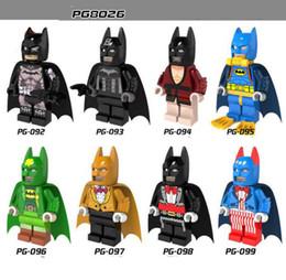 Wholesale Batman Bruce Wayne - 2017 PG8026 8 Kind of Marvel Comics Batman Mutants DC Universe The Dark Knight Rainbow Batman Bruce Wayne Building Blocks Toys