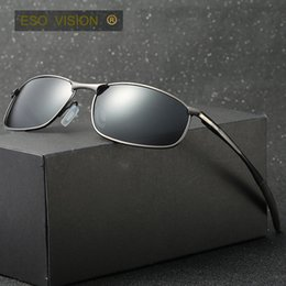 Wholesale Grey Car Wrap - Vintage Metal Sport Sunglasses for man and woman Mens brand polarize sunglasses bicycle Sunglasses Golf Car holder free ship China hot sale