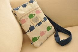 Wholesale Wholesale Bag Cross - HB551 Cute Sweet Cozy Casual Printed Canvas Zippered Shoulder Bag Sling Bag Messenger Bags Cross Body Free Shipping 0.5