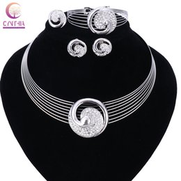 Wholesale Necklace Collar Fashion Design - New Design Fashion Gold Color Collar Big Gem Choker Necklace gift Women Wedding Party Jewelry Accessories