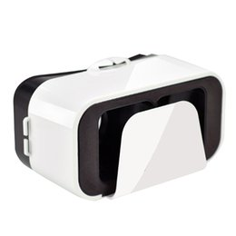 Wholesale Head Goggles - Wholesale- VR BOX VR Glasses Head Mount Plastic 3D Glasses Virtual Reality Glasses Google Cardboard VR Goggles For Smartphone High Quality