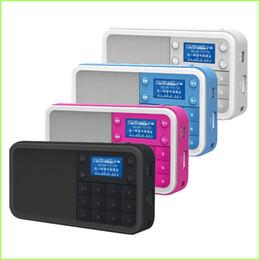 Wholesale Small Portable Radio Speaker - Wholesale-PANDA DS - 186 digital jukebox card small portable mini digital speakers sound on the radio