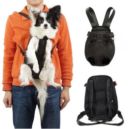Wholesale Pet Sling Bag - Nylon Net Bag Pet Puppy Dog Cat Carrier Backpack Front Tote Sling durable Carrier new Breathable
