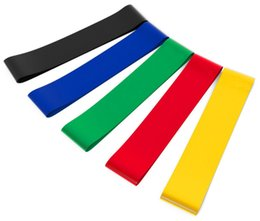 Wholesale Elastic Stretch Loops - Print Your Logo Resistance Band Pilates Yoga Rubber Resistance Elastic Bands Fitness Loop rope Stretch Bands Bodybuilding