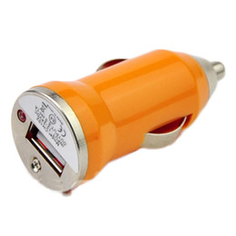 Wholesale Iphone Dc Adapter - usb car charger adapter voltage dc Univeral 1PCS USB Car Charger Adapter Apple for iPhone for iPod Nano Mini MP4 MP3 PDA wholesale AUG12