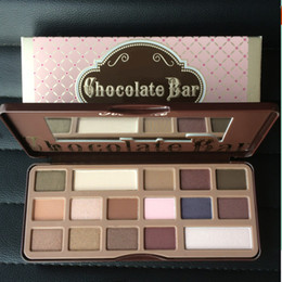 Wholesale Full Bar Set - Faced Chocolate Bar Eyeshadow Cosmetic Makeup Kit Palettes Make Up Brand Eye Shadow Palettes Set with Retail Box 16 Colors