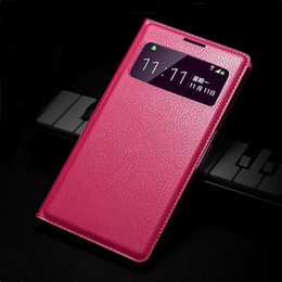 Wholesale Shockproof Case For S4 Mini - Flip View Cover For Samsung Galaxy S4 I9500 S4 Mini I9190 Grand 2 G7106 Phone Case Original Shockproof Bag