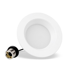 Argentina 2PACK 4 pulgadas 8W Regulable UL Retrofit LED Empotrable de iluminación, LED Downlight, Luz de techo LED 90Ra ENERGY STAR, 8W (Reemplazo de 65W) Suministro