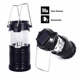 Wholesale Solar Hand Battery - Wholesale-Portable Hiking Lantern Outdoor Water Resistant USB Rechargeable Hand Crank Solar Dynamo Light for Hiking Camping Emergency