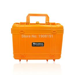 2019 vídeos laranja Venda Por Atacado- Caso difícil à prova d'água com espuma para equipamento de vídeo câmera Carregando Case Preto Laranja ABS Plástico selado Segurança caixa de ferramentas portáteis vídeos laranja barato