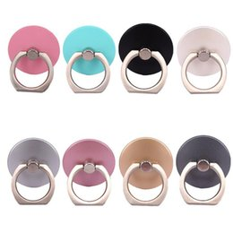 Wholesale Free Shipping Gadgets - 10pcs Lot Colorful 360 Degree Finger Ring Holder Mobile Phone Stand Universal Ring Hook Bracket Ring Hook Bracket gadgets Free Shipping