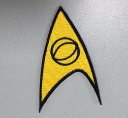 Wholesale science sale - HOT SALE! STAR TREK MEDICAL AMERICAN SCIENCE FICTION EMBROIDERY IRON ON PATCH BADGE 10pcs lot MADE IN China Factory high quanlity