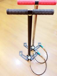 Wholesale Pcp Hand Pump - Factory direct sale 4500PSI 300bar 30mpa  40mba High Pressure Pcp Hand folding pedal portable Air pump Hand Car mini panel air pump