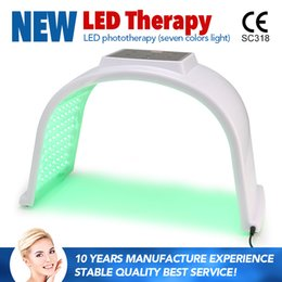 Wholesale Home Led Light Therapy Machine - 2017 Korea fda ptd led light therapy making LED phototherapy skin machine PDT facial beauty machine price home use or salon use