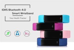 Wholesale Step Fit - ID115 Smart Bracelet Fitness Tracker Step Counter Fitness Smart Band Alarm Clock Vibration Wristband PK ID107 Fit Bit Biband2