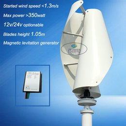 Wholesale 48v Controller - 300w vertical axies wind turbine generator 12v 24v 48v with controller for wind solar hybrid system home streetlight use