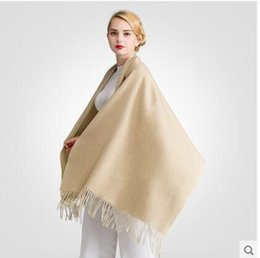 Wholesale Cheap Ties Scarves - 2017 Christmas new pure linen fold super long big shawl women sexy fashion cheap multicolor punk scarf scarves wraps free shipping