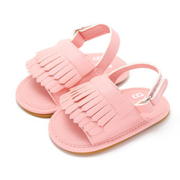 Wholesale Low Price Toddler Shoes - Wholesale- Newborn Baby Shoes Infant Baby First Walkers Tassel Toddler Princess Girls Kid Shoes Anti-slip Shoes Lowest Price