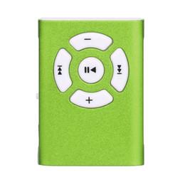 Wholesale Mp3 Player Mini Clip 1gb - Wholesale- B13 Mecall New Hot mp3 player fiio Mini Clip Mirror Sport MP3 Player Micro SD TF Card Music Media New