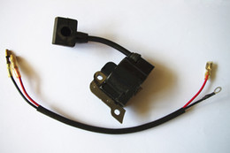 Wholesale Ignition Spark - Ignition coil w  cable & spark plug boot fit Honda GX25 FG110 HHT25S, WX10K1 free shipping strimmer cutter ignitor 30500.ZOH.013