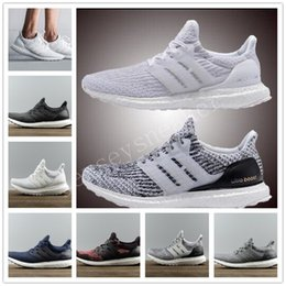 Wholesale Snowflake Shoes - 2017 ultra boost 3.0 running shoes CNY triple black ultra boost white hypebeast primeknit ultra boost snowflake running sport shoes