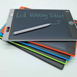 Caneta de escrita on-line-8.5 polegada LCD Escrita Tablet Touch Pad Office Memorando Placa Magnética Frigorífico Mensagem com Ultra Brilhante Atualizado Stylus 2017