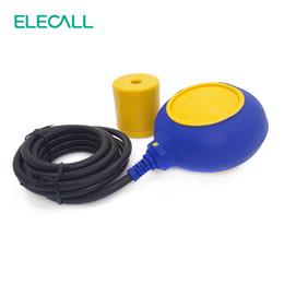 Wholesale Sensor Water Level - Wholesale- Hot Sale 3M Controller Float Switch Liquid Switches Liquid Fluid Water Level Float Switch Controller Contactor Sensor