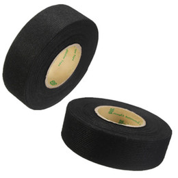 Wholesale wholesale fabric tape - Wiring Harness Tape Heat-resistant Adhesive Cloth Fabric Tape Cable Looms For Car Motorcycle
