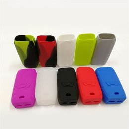 Wholesale Mod Bags - Colorful Silicon Case Protective Skin Sleeve Bag Wrap For Vaporesso Revenger 220W Box Mod Kits DHL Free 0213181