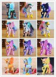 2019 uniformes de combate militares negros Figuras de película / Juegos Figuras 14 cm colección de juguetes pvc unicornio pony juguetes para niños cumpleaños regalo de navidad muñeca