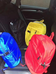 Wholesale Yellow Backpack Canvas - 2018 Best Luxury Backpack Travel Bags Mans Women Backpacks Authentic Quality Back School Outdoor Sports Packs 30*24