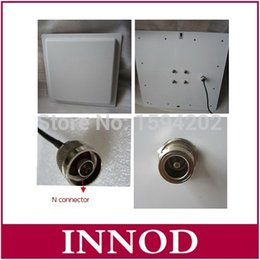Wholesale Directional Outdoor - Wholesale- rfid uhf directional antenna 12dbi gain 868-868mhz passive liear polarization antenna outdoor anti-weather 120km h N connector
