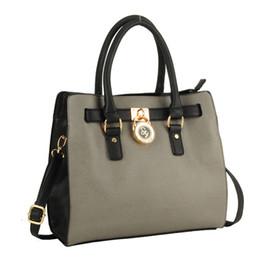 Wholesale Pu Soft Materials - Clearance Woman Big Handbag Fashion Tote Elegant Designer Shoulder Bag OL Business Dress Lady Tote High Quality PU Material SY1611