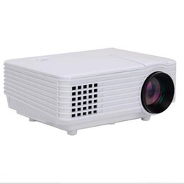 Wholesale Brand Projector - Wholesale-Brand New Picot Mini AV LED Digital Video Game Projector Multimedia Native 800*480 projector With HDMI AV USB SD TV card Ports