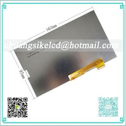 "Wholesale Tft Lcd Tablet - Wholesale- 163x97mm LCD Display 7"" Digma Optima 7.07 3G TT7007MG Tablet TFT LCD Screen Matrix Digital Replacement Panel Parts"