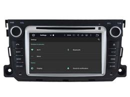 Wholesale Car Dvd Gps Player Smart - Navirider octa core android6.0 car dvd player for MERCEDES-BENZ Smart 2010 2012 2014 gps navi radio stereo 3G WIFI dvr headunit tape record