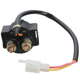 Wholesale Starter Scooter - Motorcycle Starter Solenoid Relay ATV 50cc 70cc 90cc 110cc 125 GY6125 For most Chinese Scooter motorcycle ATV Dirt bike