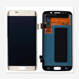 Wholesale Galaxy Screen Assembly - For Samsung Galaxy S6 edge G925 Test New LCD Display Touch Screen Digitizer Assembly Parts Free Shipping