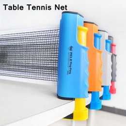 Wholesale Table Tennis Posts - Retractable Table Tennis Table plastic+Strong Mesh Net Portable Net Kit Net Rack Replace Kit for Ping Pong Playing